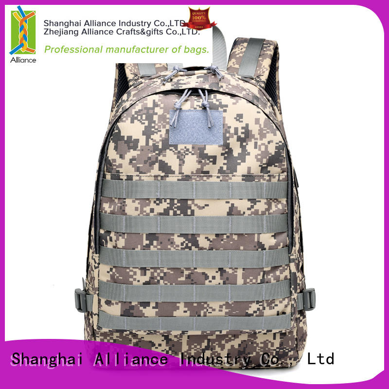 Alliance backpack factory design for fishing