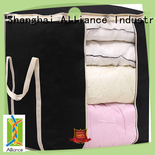 Storage Bag for Blankets Clothes Sweaters Beddings Organizer with Reinfored Handles