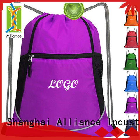 cost-effective cotton drawstring bags design for sport