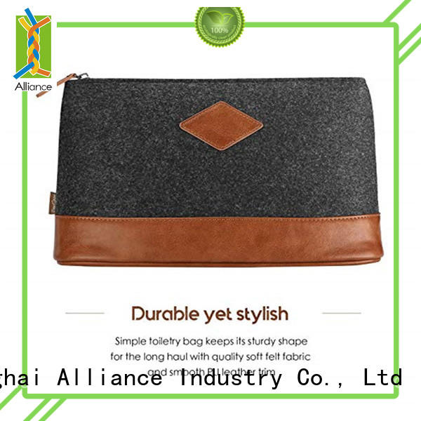Alliance cosmetic travel makeup bag factory price for travel