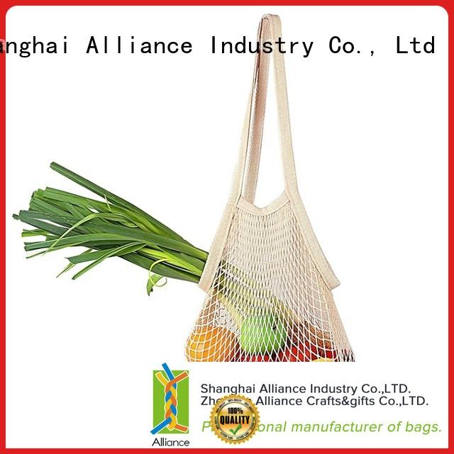 Alliance extra large mesh bags personalized for packaging