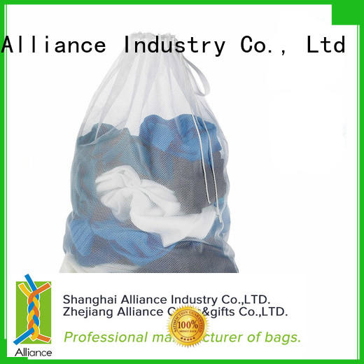 Alliance certificated laundry net bag factory price for outdoor