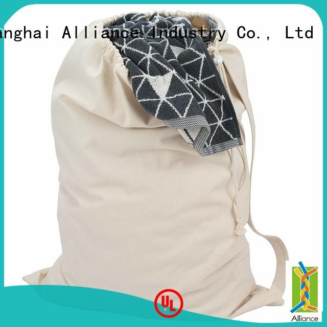 Alliance certificated mesh shower bag for beach