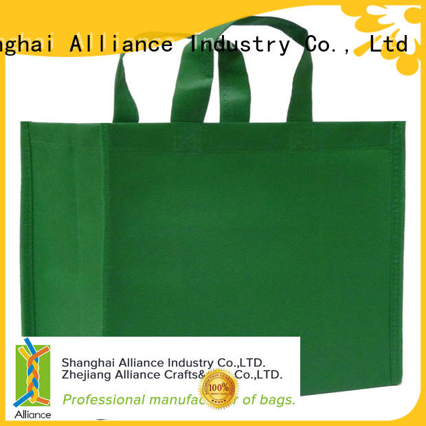 Alliance canvas tote bags series for grocery