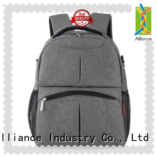 Alliance reliable diaper backpack manufacturer for boys