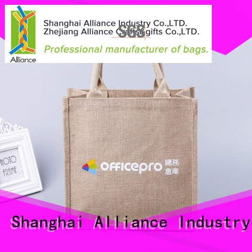 Alliance canvas tote bags directly sale for books