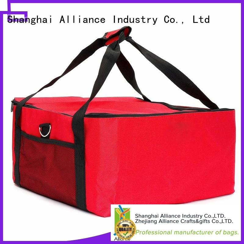 Alliance hot selling pizza delivery bag customized for restaurant