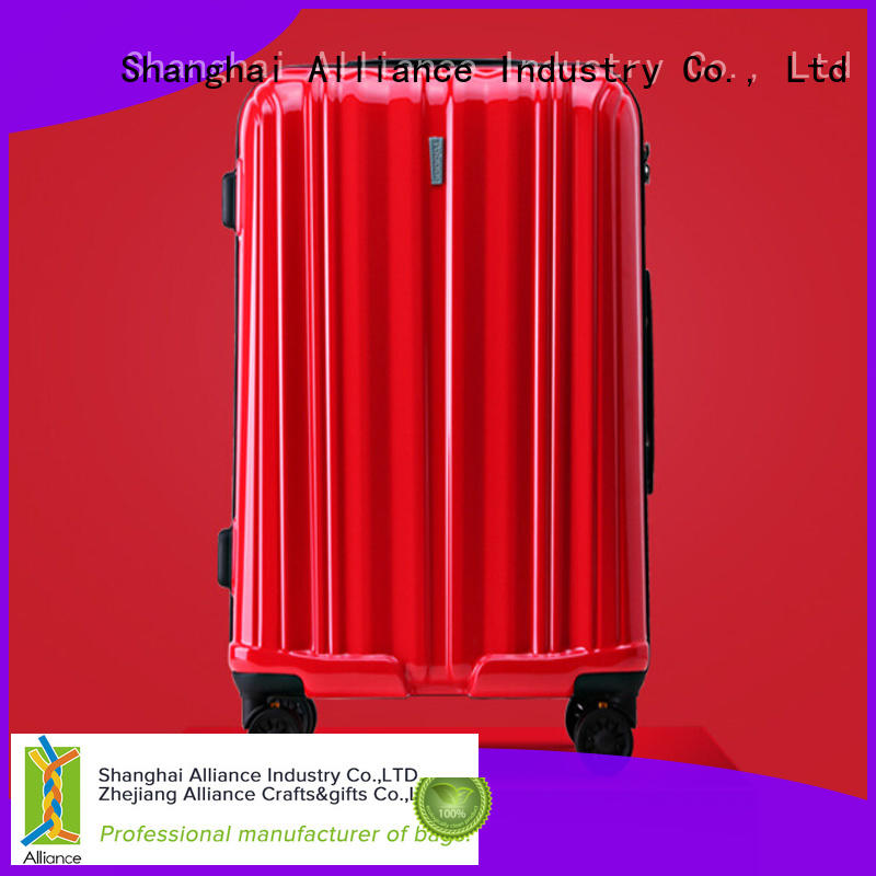 double wheels luggage trolley bags with good price for tirp