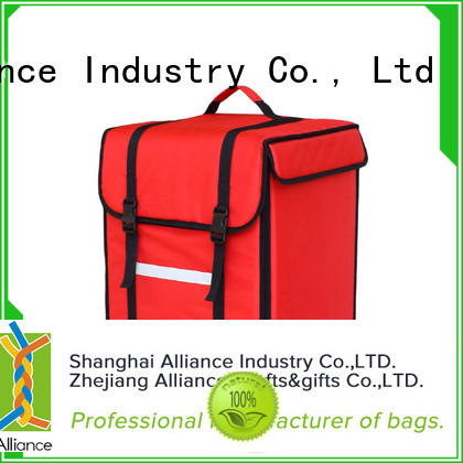 Alliance premium pizza delivery bag directly sale for store