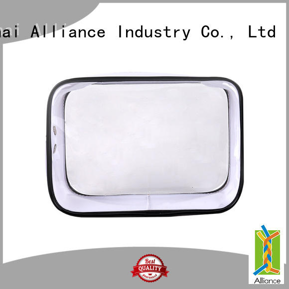 Transparent Waterproof Wash Bag PVC Cosmetic Bag for Vocation Travelling