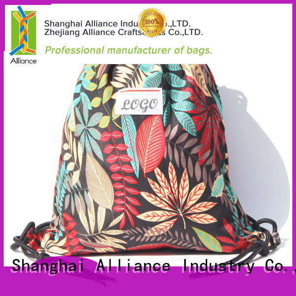 Alliance approved drawstring bags with good price