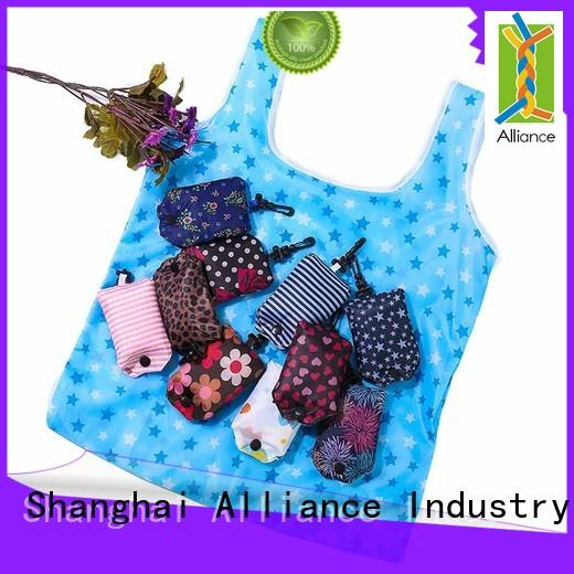 Alliance approved folding shopping bags factory for shopper