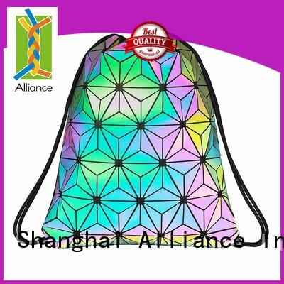Alliance approved drawstring backpack factory for sport