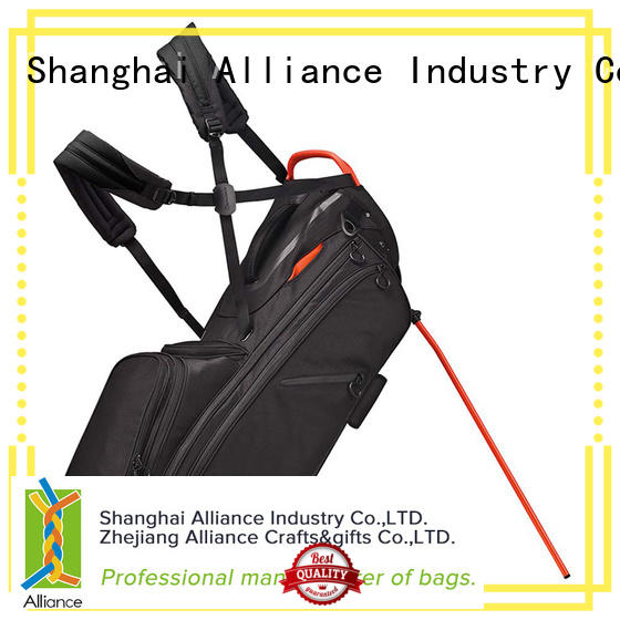 Alliance black golf cart bags series for man