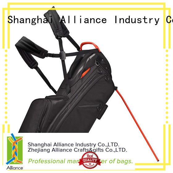 Alliance black golf cart bags series for man