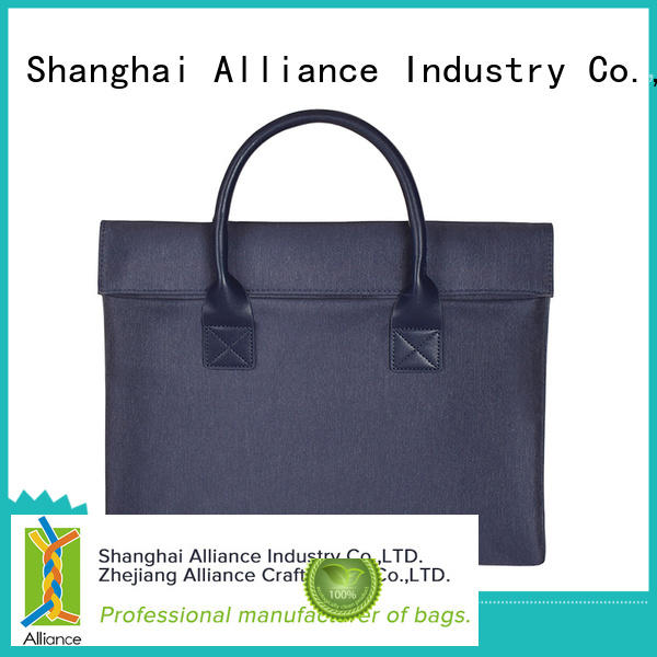 Microfiber PU Leather Laptop Tote Bag Briefcase