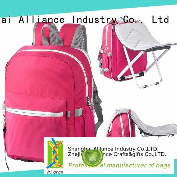 Alliance excellent backpack factory design for fishing