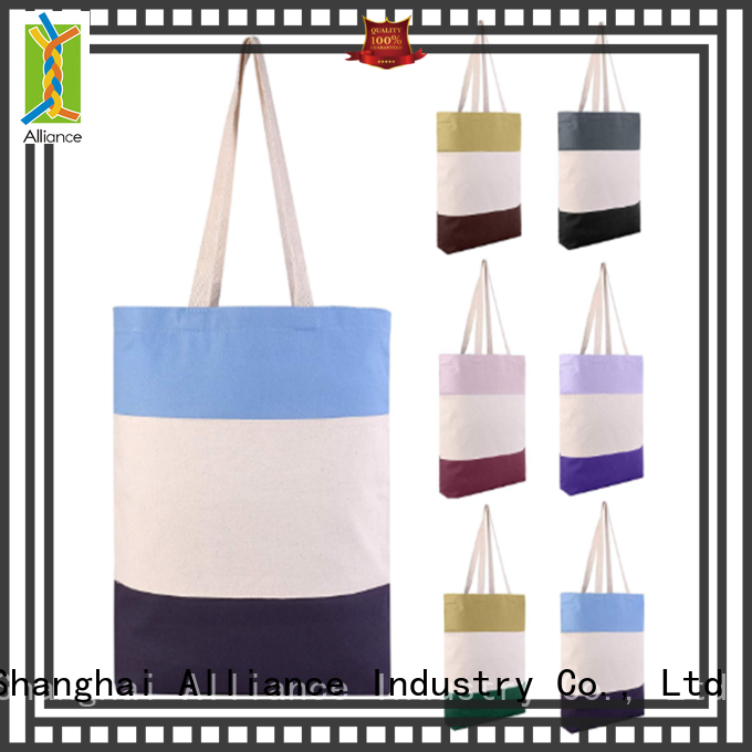 Alliance cotton bag from China for grocery