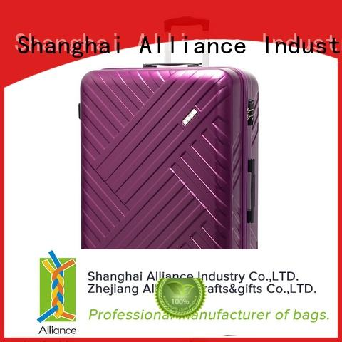Alliance approved trolley suitcase with good price for vacation