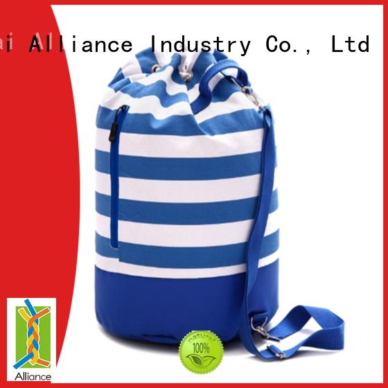 Alliance reusable cotton bag customized for books