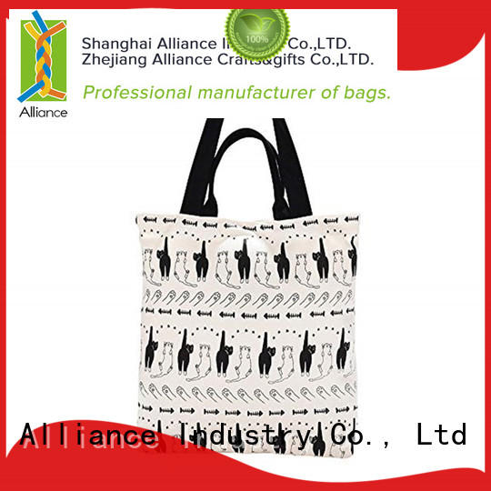 quality cotton tote bags manufacturer for shopping