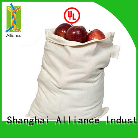 Alliance drawstring pouch design for student