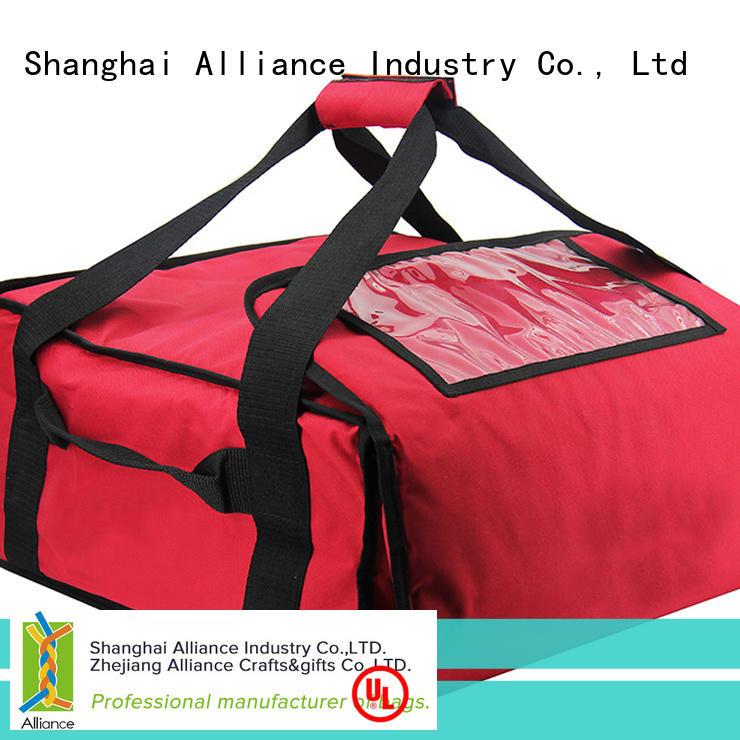 Alliance pizza warmer bags series for restaurant