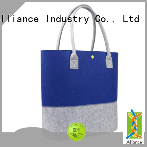Alliance durable designer printed tote bags for shopping