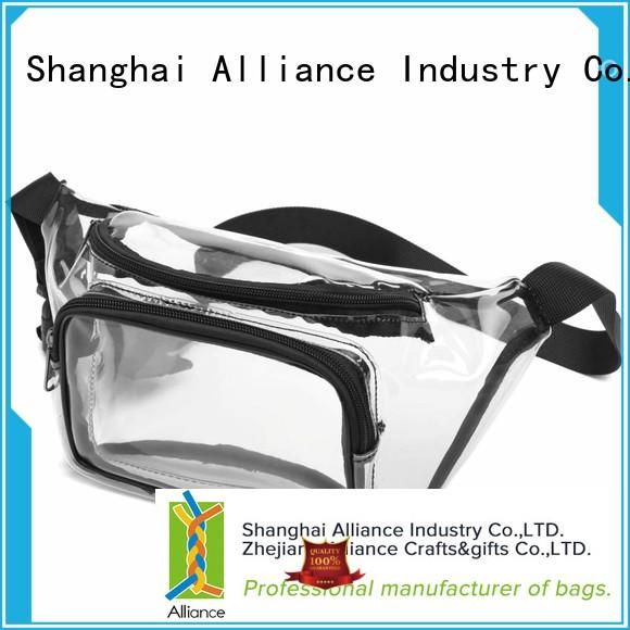 Alliance waterproof waist bag factory price for gym