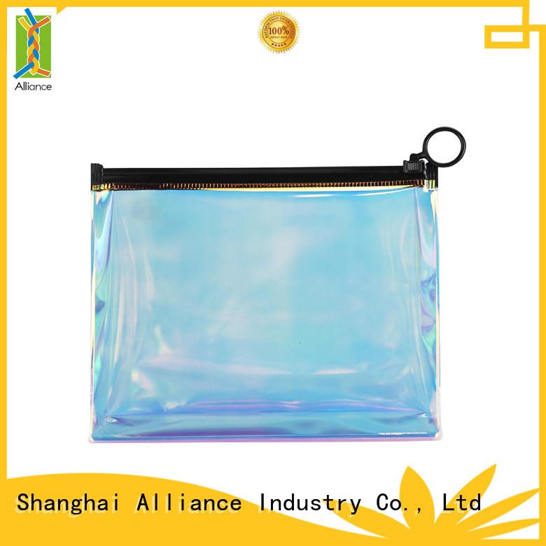 Alliance quality cosmetic bags factory price for tirp