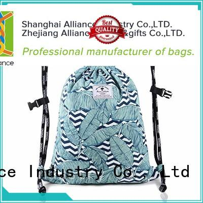 Alliance drawstring bags inquire now for girls