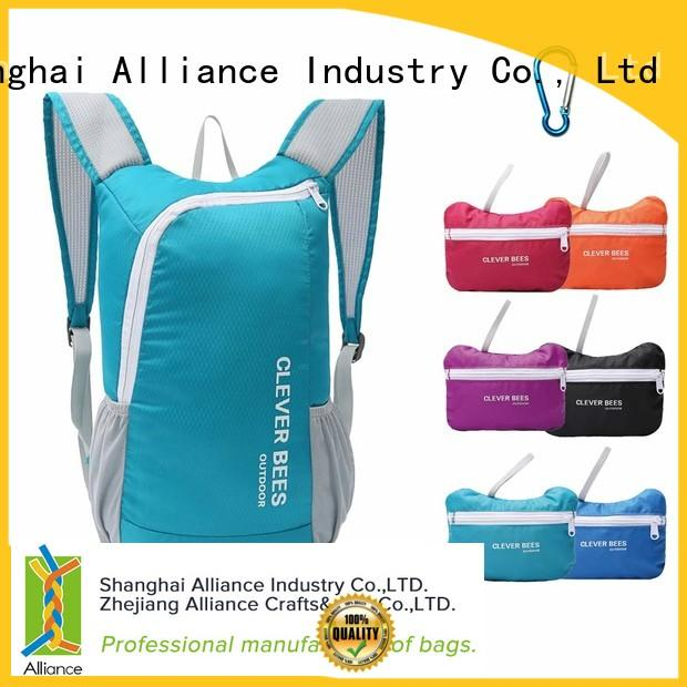 Alliance elegant backpacks factory for camping