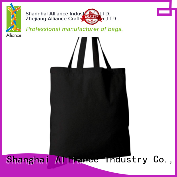 Alliance multi purpose personalized tote bags series for shopping