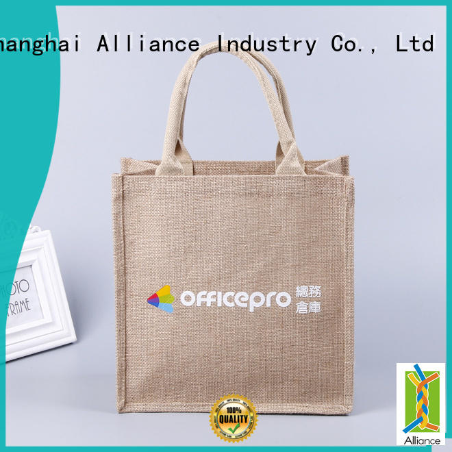 Alliance reliable cloth tote bags for books