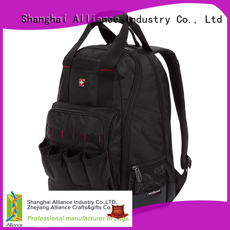 Large Durable Tool Bag Backpack With Padded Laptop Compartment