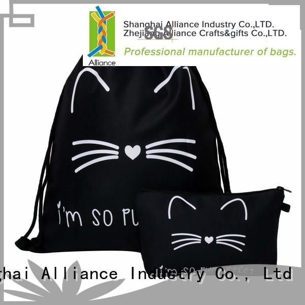 Alliance hiking cotton drawstring bags inquire now for girls