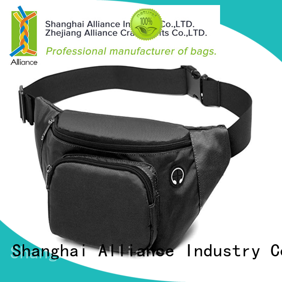 waterproof mens waist bag factory price for casual