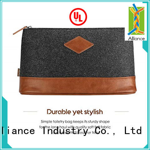 Alliance waterproof makeup pouch factory price for travel