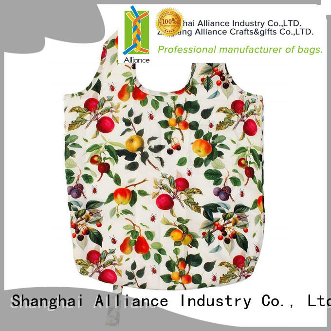 Alliance reusable grocery bags design for grocery