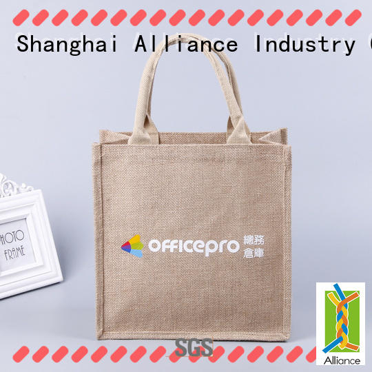 Alliance canvas tote bags directly sale for shopping