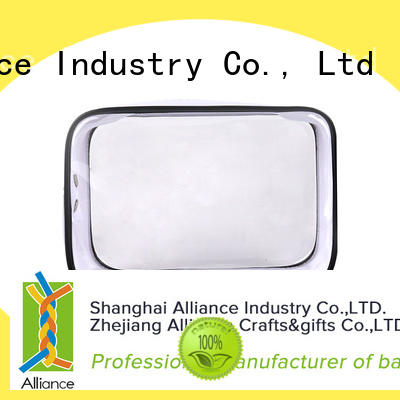 Alliance makeup pouch personalized for travel