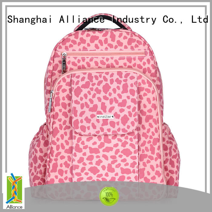 Alliance practical diaper backpack manufacturer for wet cloth