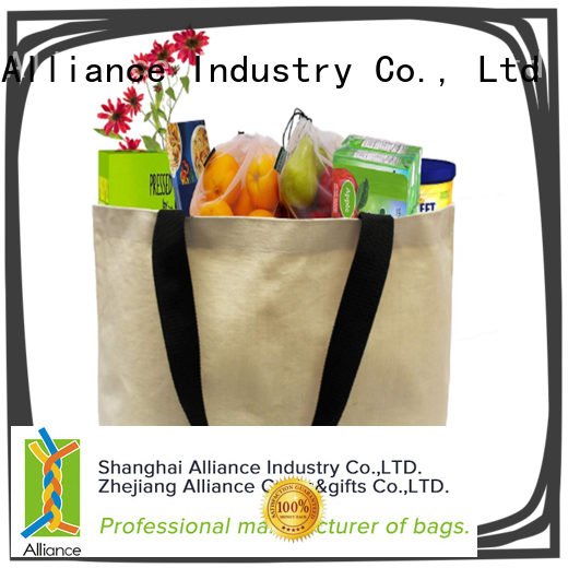 Alliance canvas tote bags series for women
