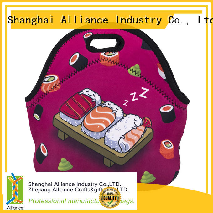 Alliance reusable lunch bags for men manufacturer for children