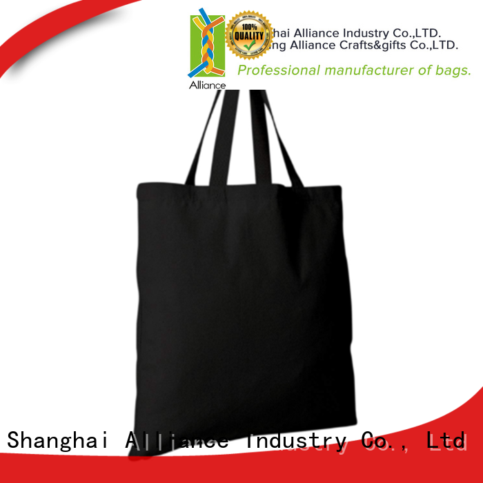 Alliance multi purpose canvas tote bags manufacturer for books