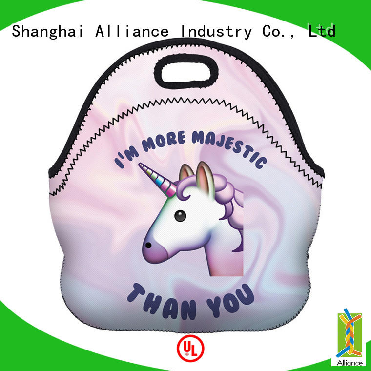 Alliance quality insulated lunch bags customized for food