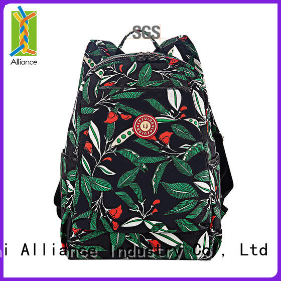 Alliance hot selling diaper bag backpack customized for wet cloth