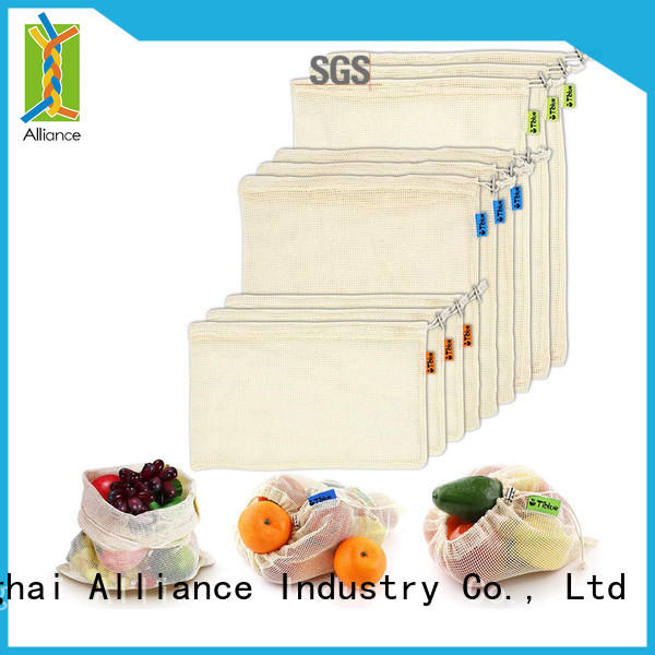 sturdy mesh laundry bags supplier for shopping
