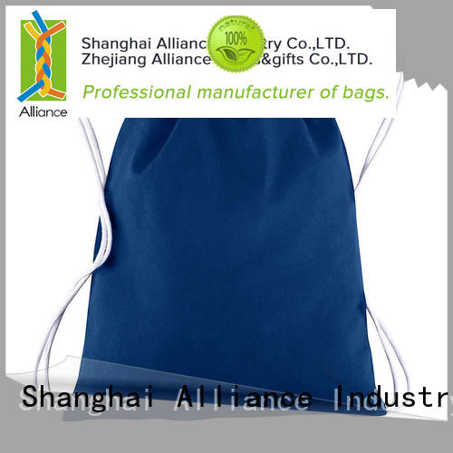 Alliance drawstring bags design
