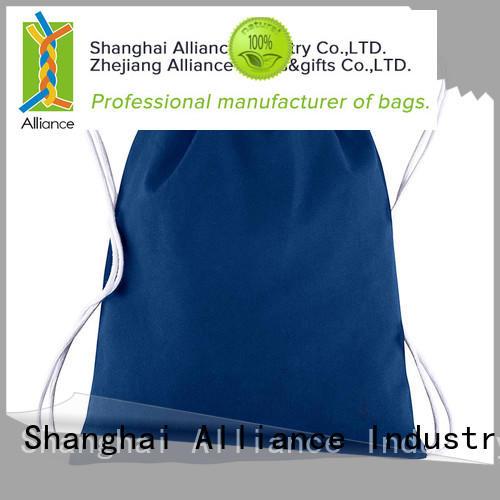 Alliance drawstring bags design